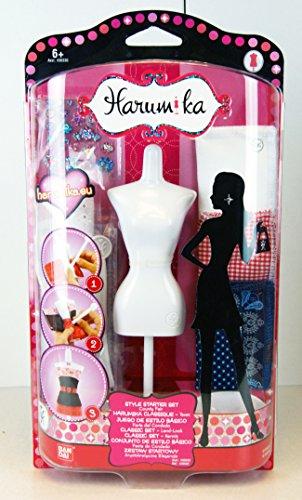 Harumika - 30502 - Style Your Imagination - Style Starter Set - Mode-Accessoires - County Fair / Land Look - mit Deko-Puppe und vielen Mode Accessoires