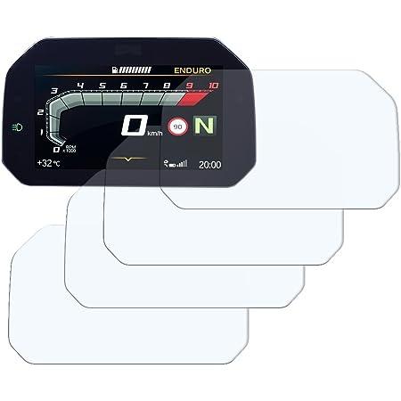 Speedo Angels Dashboard Displayschutzfolie Tachoschutzfolie Für R1250 Gs 2018 3 X Entspiegelt Auto