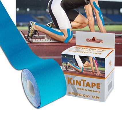 KK KinTape | Kinesiologie Tape | Verschiedene Farben | 5 cm x 5 m (Hellblau)