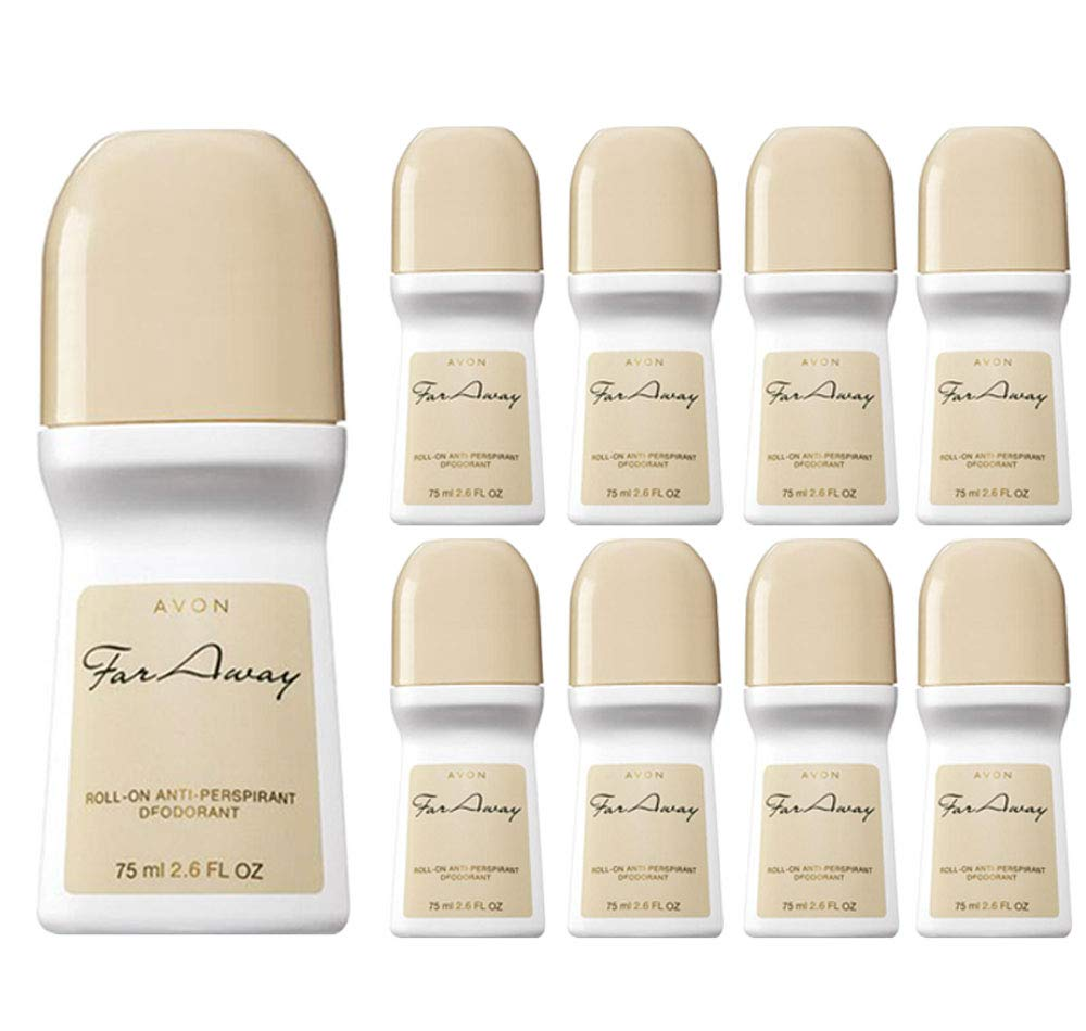 Avon Far Away Roll-on Time sale Anti-perspirant 2.6 Spring new work one after another oz 12- Size Deodorant