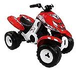 Smoby - 033048 - Quad Électrique X Power - Rouge - Véhicule Électrique pour Enfant - 2 Roues Motrices - Autonomie Batterie 2 heures - 6V