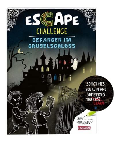 Escape Challenge - Libro de partituras para todos los fans de Exit a partir de 8 años + 1 adhesivo Escape