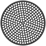 LloydPans Lloyd Pans 10 inch, Pre-Seasoned PSTK, Perforated Pizza Made in the U Pizz Quik Disk, Dark Gray