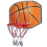 MHCYKJ Canasta Baloncesto Interior NBA De Aro Puerta Juego Montado En La Pared para Niños Basquetbol con Bola Y Bomba Bebés Tablero Canastas