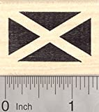 """Approximate Image Size: 7/8"""" x 1 3/8"""" This is a deeply etched, finely detailed rubber stamp mounted on high quality white maple wood block with hourglass sides. Made in the United States of America with the highest Quality Materials and Workmanship. ..."""