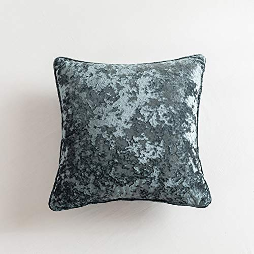 Velours de glace Jetez des oreillers moelleux Couleur pure Lumière de luxe et daim délicate Coussin à la maison for le canapé Chambre à coucher Backrest de voiture