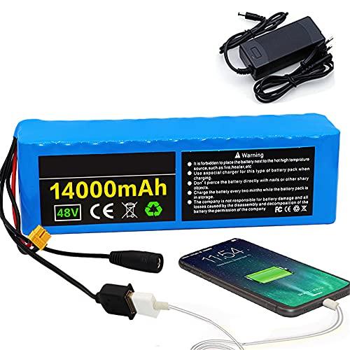 FJYDM E-Bike Lithium-Batterie, Akku Für...