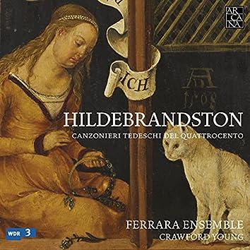 Hildebrandston: Canzonieri tedeschi del Quattrocento