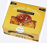 Brittle Brothers Peanut Brittle - 1 Pound Box.