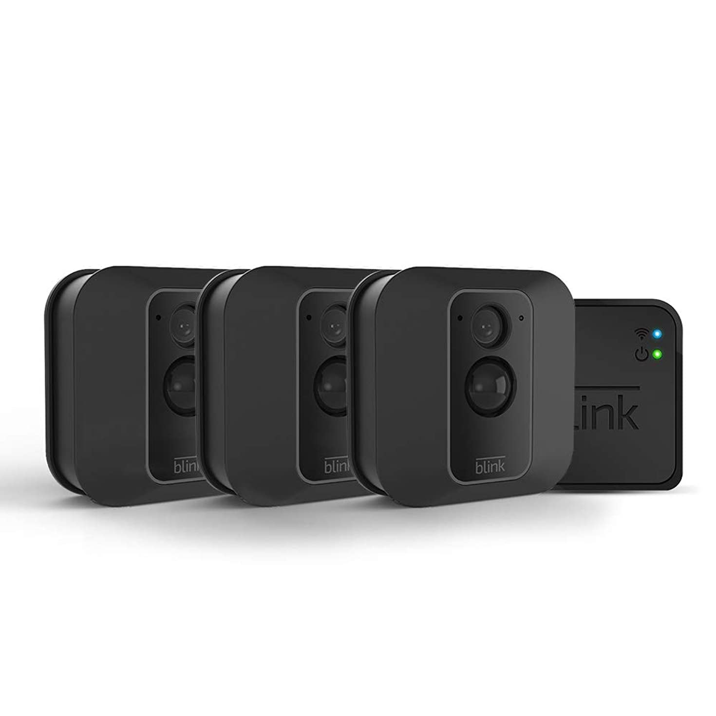All-new Blink XT2 Outdoor/Indoor Smart Security Camera with cloud storage included, 2-way audio, 2-year battery life – 3 camera kit