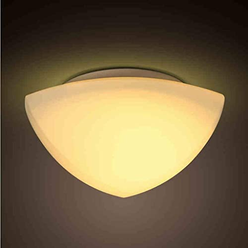 Plafonnier Simple Moderne Hall Couloir Balcon Lampe Salon Salon Chambre Chaud en Verre Abat-Jour Plafonnier Lampes Multiples Styles