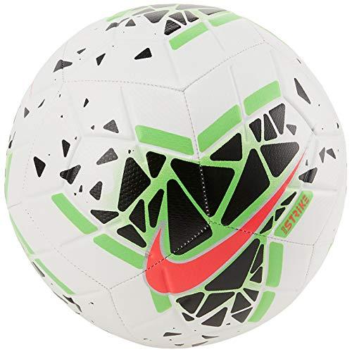 Nike Nk Strk-Fa19 Ball, Men, White/Black/Green Strike/Laser Crimson, 5