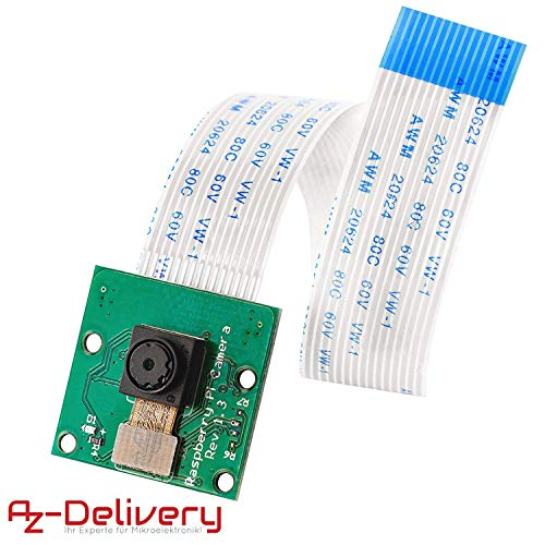 AZDelivery Camera voor Raspberry Pi met eBook