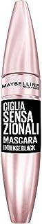 Maybelline New York Mascara Ciglia Sensazionali, Volumizzante, Effetto Ventaglio sulle Ciglia, Intense Black, 9,5 ml