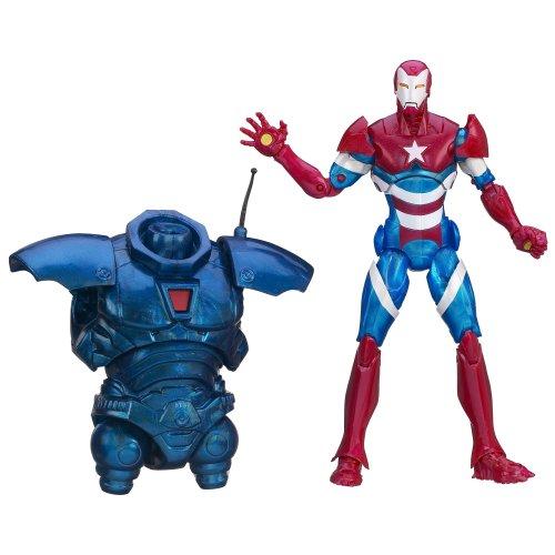 Marvel Legends – Iron Man 3 Series – Heroic Age Iron Patriot – Figurine 15cm (Import Royaume-Uni)