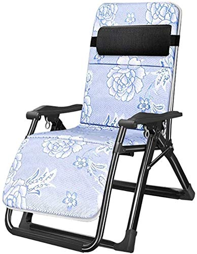 CPone-my Classic Lounge Chairs Sun Lounger/Patio Zero Gravity Chair, Beach Sun Loungers Reclining Garden Home Lounge Chair with Cushion *upgrade