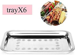 XHCP lavaplatos 6 TAYAS Acero Inoxidable Todo EL Horno Haciendo, Alto, Espejo Y SIN Frescos para CLARAR Y Lavar LAVAVAJILLAS