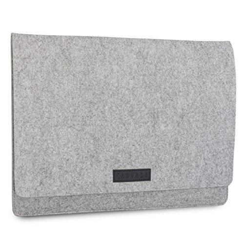 KANVASA Filz Laptop Sleeve 11-11,6 und 12 Zoll für MacBook Air (2018), MacBook Pro 13