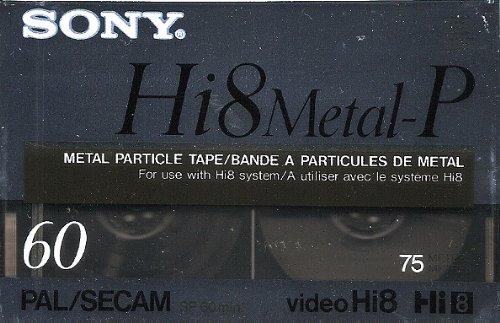 SONY Hi8 Metal-P für Camcorder Hi8