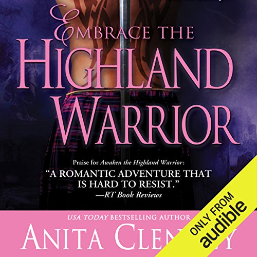 Embrace the Highland Warrior audiobook cover art