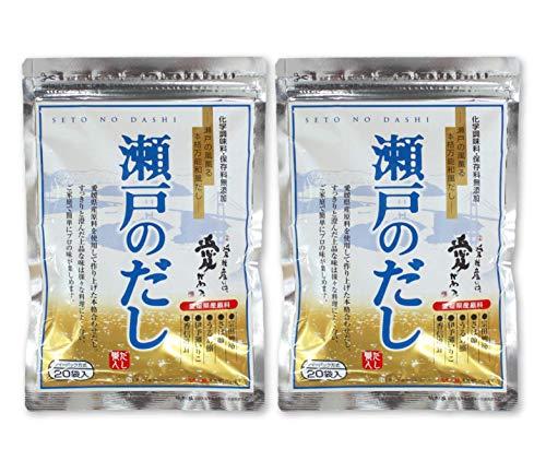 瀬戸のだし ティーパック方式 160g(8g×20袋)×2袋セット 愛媛県産原料使用