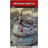 Andrea WWWII U-Boat Deck Gun Crew - Miniatures