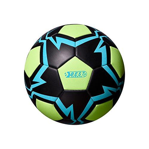 Best Sporting Fußball Glow In The Dark, Farbe:blau/grün