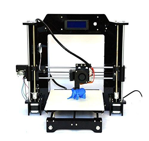 Rapid Rabit Prusa I3 3D Printer (Black)