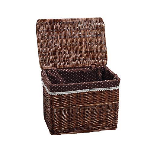 Idyllic Wicker Toys Dirty Clothes Clothing Storage Basket Box Box Wicker Weaving