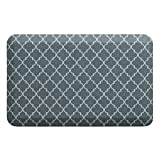 """NewLife by GelPro Anti-Fatigue Designer Comfort Kitchen Floor Mat, 20x32"""", Tweed Grey Goose Stain Resistant Surface with 3/4"""" Thick Ergo-foam Core for Health and Wellness"""