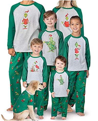 Conjunto de Pijamas navideños a Juego...