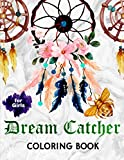 DREAM CATCHER COLORING BOOK FOR GIRLS: Watercolor Coloring Books for Men and Women | Funny Adult Mini Coloring Books
