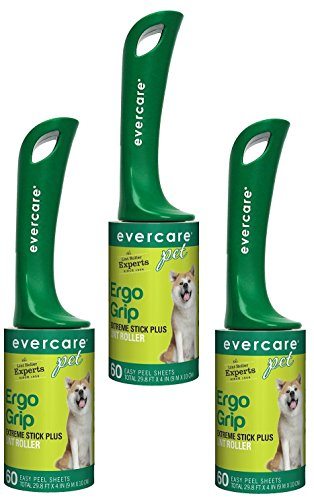 Evercare Extra-Sticky Pet Hair Rollers (3 Pack)