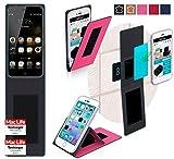 Hülle für Ulefone Paris Lite Tasche Cover Hülle Bumper | Pink | Testsieger