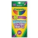 Crayola 24ct Watercolor Colored Pencils Case of 24 Packs