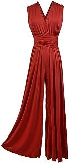 NOBRAND Fashionable Women's wear of Fashionable Multi Wearing Multi Rope Cross Sexy Bandage Jumpsuit