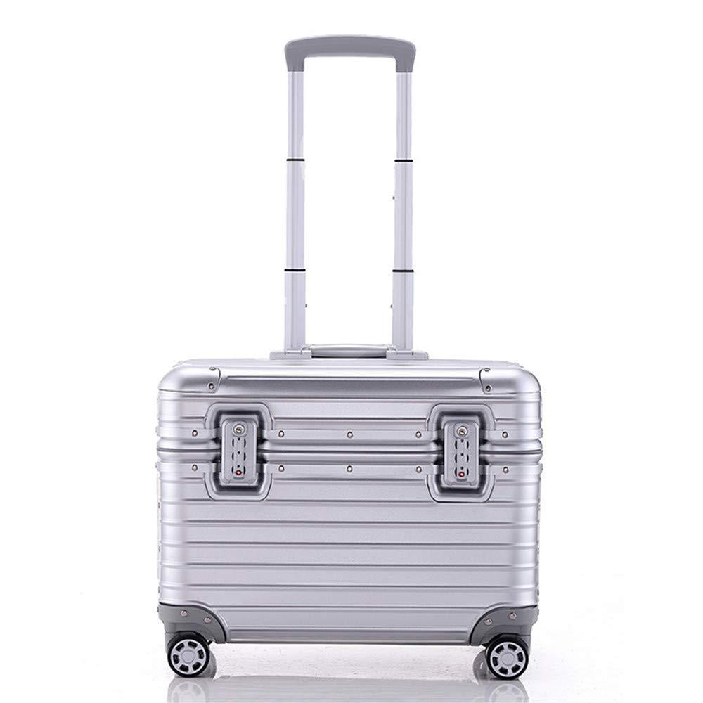 Maleta Expandible 4 Spinner Caja de aluminio y magnesio de la caja de la barra de