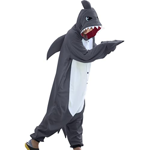 8985b9d5c6fb WOTOGOLD Animal Cosplay Costume New Shark Adult Pajamas