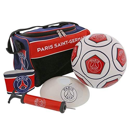 PARIS SAINT GERMAIN Football Kit PSG - Pelota Bolsa copelas Brazalete - Colección Oficial T 5