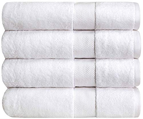 """Bumble Luxury Thick Bath Towels / 30"""" x 60"""" Premium Bath Sheet/Ultra Soft, Highly Absorbent 800 GSM Heavy Weight Combed..."""