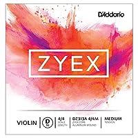 D'Addario ダダリオ バイオリン用 バラ弦 Zyex D線 DZ313A 4/4M Medium Tension 【国内正規品】