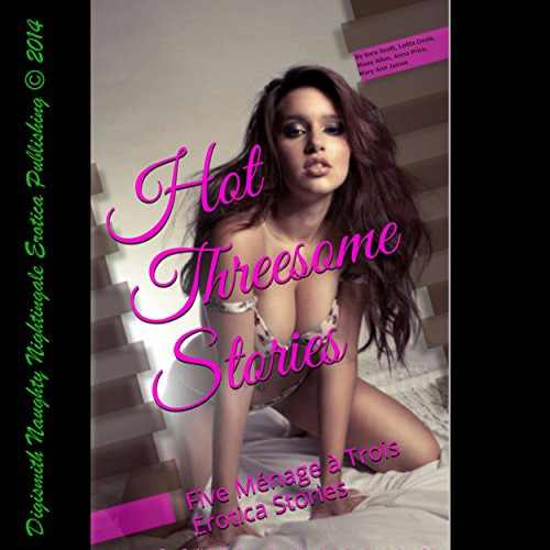 Hot Threesome Stories audiobook cover art