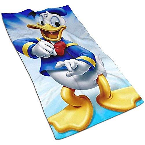 Donald Duck Soft Super Absorbent sneldrogende handdoek badhanddoek strandlaken - 27,5 x 17,5 inch