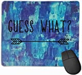 Ratet mal, welche benutzerdefinierte Gaming-Mausunterlage, Persönlichkeit Designs Gaming Mousepad