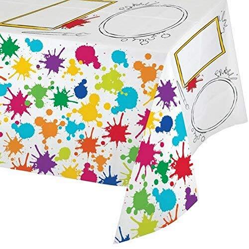 Creative Converting - Partytischdecken in Bunt, Größe One Size