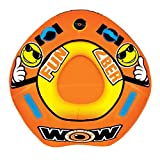WoW Watersports 2Ber 19-1100, 1 Person Towable, Starter Kit, Includes Pump and Tow Rope