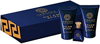 Versace Pour Homme Dylan Blue Eau de Toilette 3 Pieces Mini Set for Men 5ml