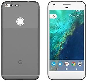 Google Pixel XL Case Clear Black