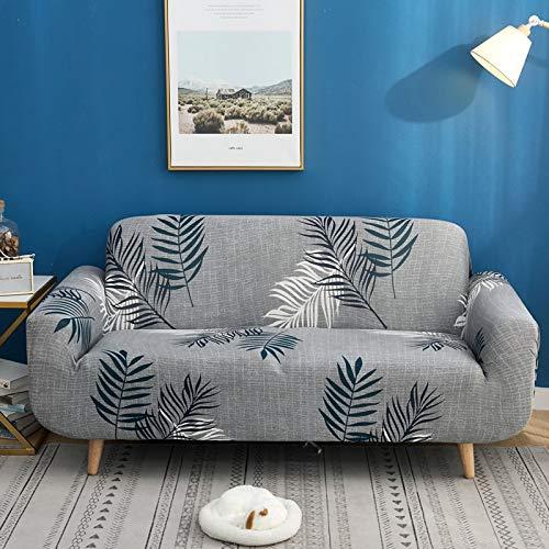 ASCV Blumensofa Protektor Sofabezüge für Wohnzimmer elastische Stretch-Schonbezug Schnittecke Sofabezüge A20 3-Sitzer