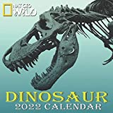 "DINOSAUR CALENDAR 2022: DINOSAUR calendar 2022 ""8.5x8.5"" Inch 16 Months JAN 2022 TO APR 2023 finished and Glossy"